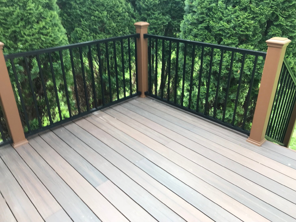 Deck Stairways and Railings and Built-in Seating