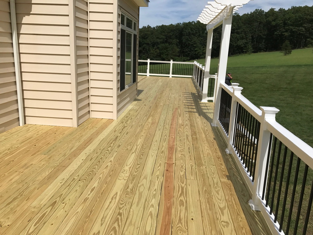 Pressure Treated Cedar Decks